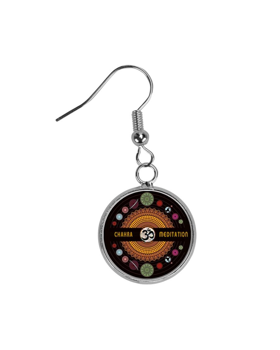 Yoga A97 Planets Circle Earrings