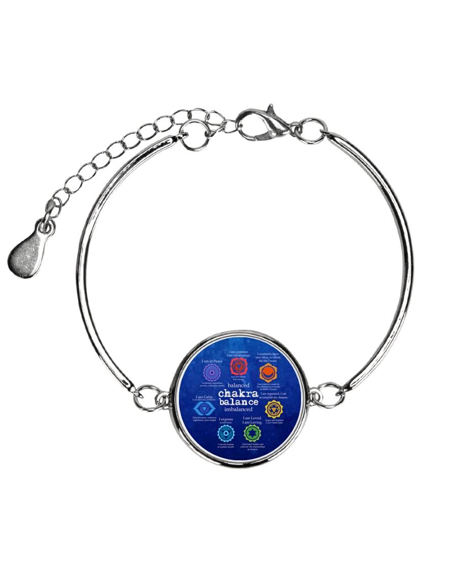 Yoga A97 Chakra Metallic Circle Bracelet