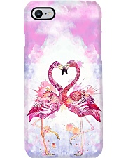 HQ Flamingo Full Phone Case thumbnail