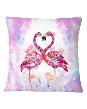 HQ Flamingo Full Square Pillowcase thumbnail