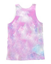 HQ Flamingo Full All-over Unisex Tank back