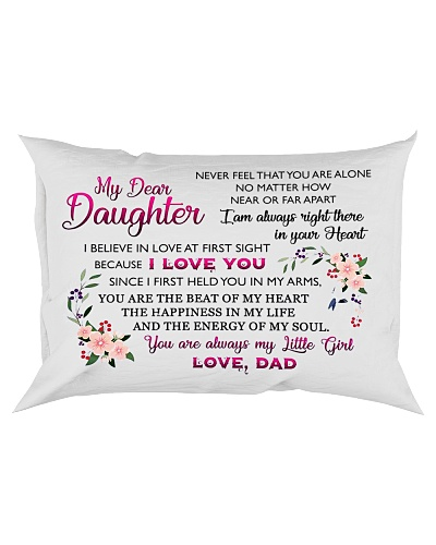 HQD Dear Daughter Pillow