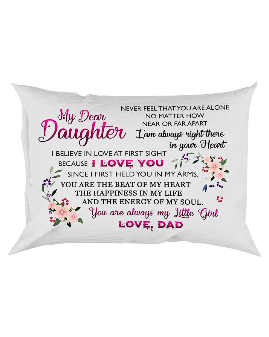 HQD Dear Daughter Pillow Rectangular Pillowcase