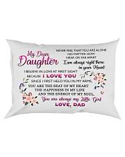 HQD Dear Daughter Pillow Rectangular Pillowcase front