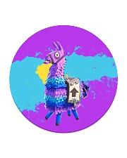 HD Llama Circle Coaster thumbnail