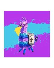 HD Llama Square Coaster thumbnail