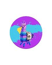 HD Llama Circle Magnet thumbnail
