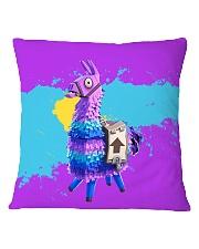 HD Llama Square Pillowcase thumbnail