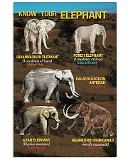 HD Know Your Elephant Poster 11x17 Poster front