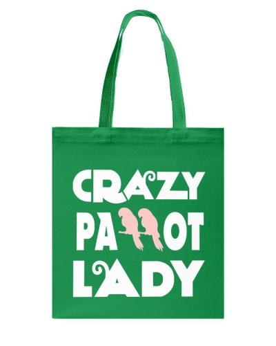 HD Crazy Parrot Lady