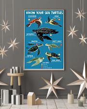 HD Know Your Sea Turtles Poster 11x17 Poster lifestyle-holiday-poster-1