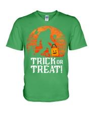 NN Trick Or Treat V-Neck T-Shirt thumbnail
