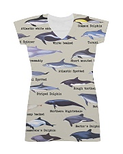 HD Defend Dolphin Dress All-over Dress front
