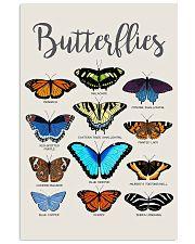 HD Butterflies Poster 11x17 Poster front