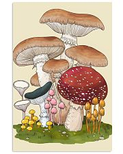 HD Group Of Mushroom 11x17 Poster front