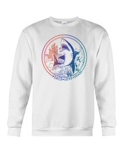 HD Love Shark Crewneck Sweatshirt thumbnail