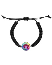 Yoga A97 Flowers Cord Circle Bracelet thumbnail