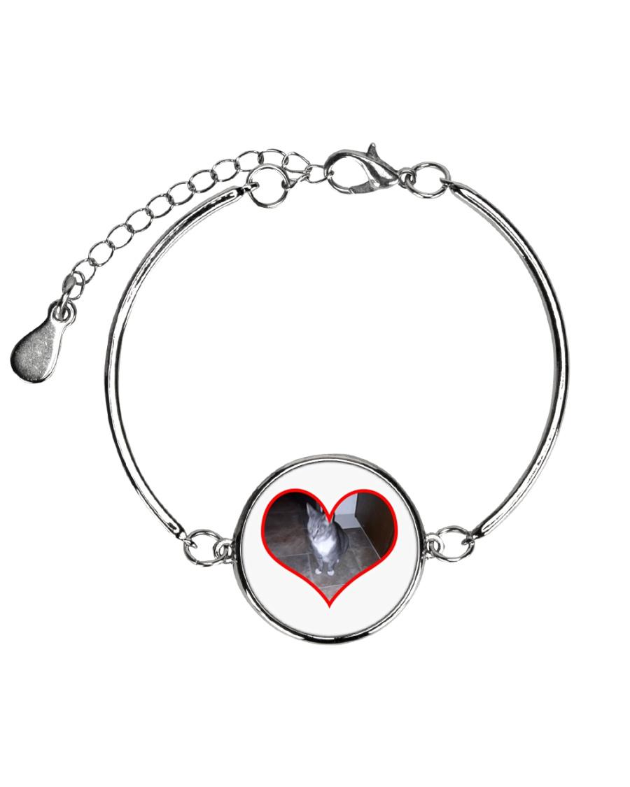 I love you Sam Metallic Circle Bracelet