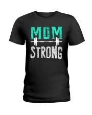 Strong Mom Ladies T-Shirt thumbnail