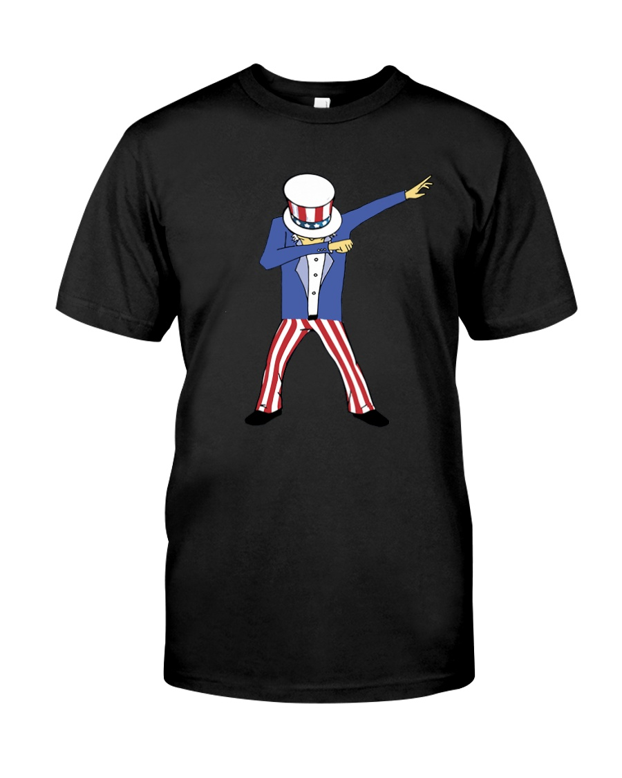 dabbing uncle sam Classic T-Shirt
