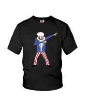 dabbing uncle sam Youth T-Shirt thumbnail