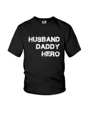 Husband Daddy Hero Youth T-Shirt thumbnail