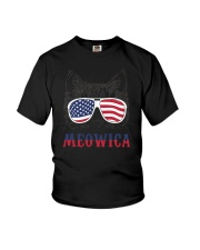 Meowica Youth T-Shirt thumbnail