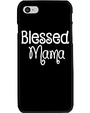 Blessed Mama Shirt Phone Case thumbnail