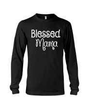 Blessed Mama Shirt Long Sleeve Tee tile