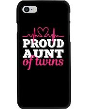 Proud Aunt of twins Phone Case thumbnail
