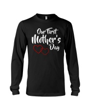 Our First Mother's Day Long Sleeve Tee front