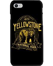 Yellowstone National Park Bear Phone Case thumbnail