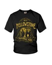 Yellowstone National Park Bear Youth T-Shirt thumbnail