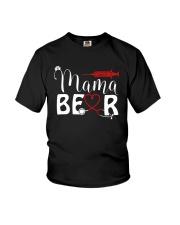 Nurse Mama bear Youth T-Shirt thumbnail