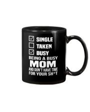 Single taken busy being a busy mom Mug thumbnail