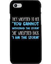I Am The Storm 1 Phone Case thumbnail
