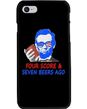 Four score and seven beers ago Phone Case thumbnail