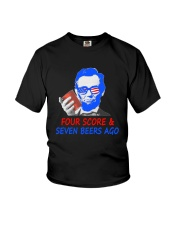 Four score and seven beers ago Youth T-Shirt thumbnail