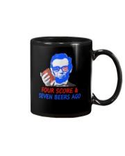 Four score and seven beers ago Mug thumbnail