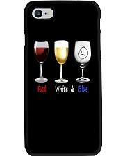 Red White Blue Phone Case thumbnail