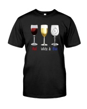 Red White Blue Classic T-Shirt front