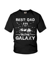 Best Dad In The Galaxy Shirt Youth T-Shirt thumbnail