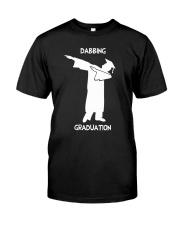Dabbing Graduation Classic T-Shirt front