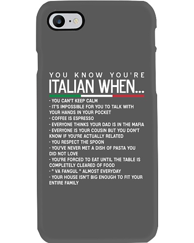 Phone Cases | Italians Are Everywhere