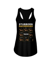 Stubborn Dachshund Tricks T-Shirt Ladies Flowy Tank thumbnail