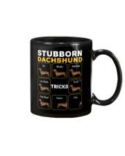 Stubborn Dachshund Tricks T-Shirt Mug thumbnail
