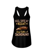 Dachshund Lover Ladies Flowy Tank thumbnail