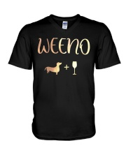Dachshund Lover  V-Neck T-Shirt thumbnail