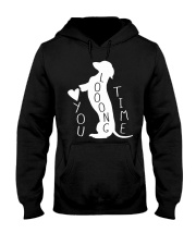Dachshund Love You Hooded Sweatshirt thumbnail
