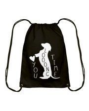 Dachshund Love You Drawstring Bag thumbnail